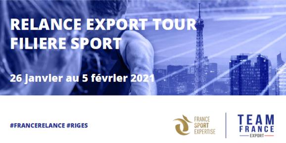 Partenaire du rendez-vous annuel de la filière sport à l'export !