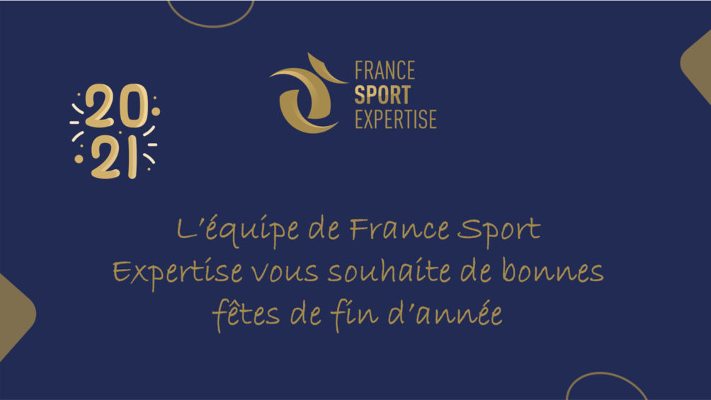 France Sport Expertise vous souhaite de bonnes fêtes de fin d'année