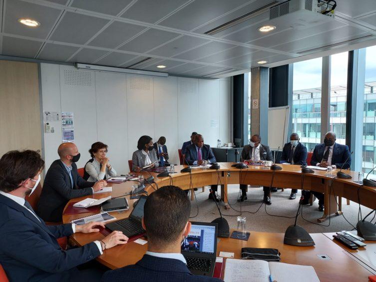 Réunion de travail avec la délégation des Jeux de la Francophonie de Kinshasa 2022