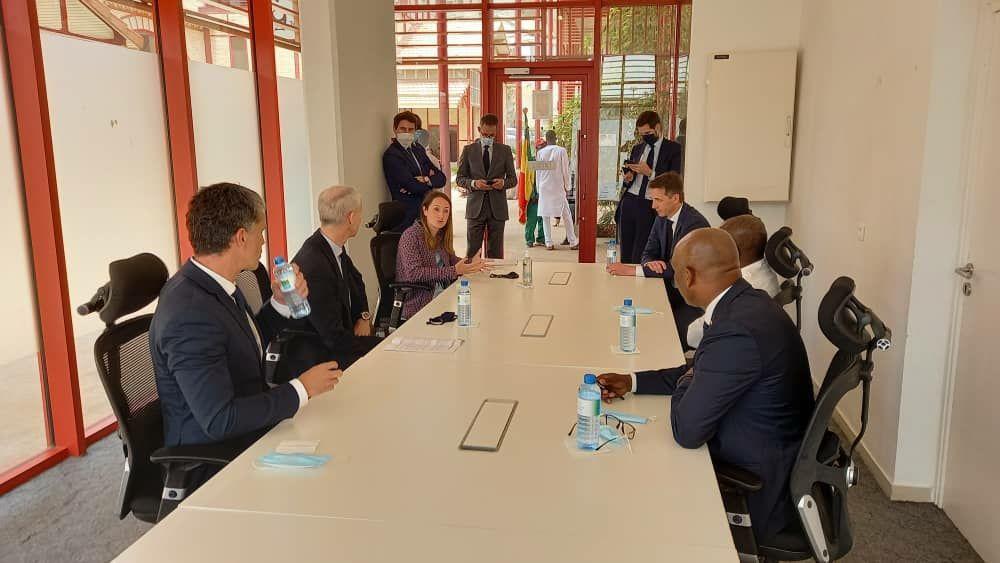 Présence du GIE France Sport Expertise au Sénégal aux côtés de Franck Riester, ministre délégué chargé du Commerce extérieur et de l'Attractivité